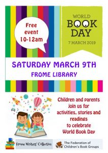 World Book Day event at Frome Library @ Frome Library