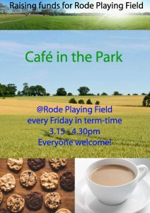 Cafe in the Park - Rode Playing Field