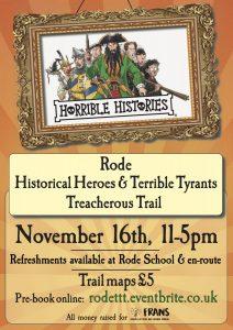 FRANS - Horrible Histories Trail @ Rode Village