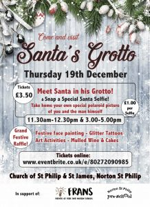 Santa's Grotto @ St. Philip and St. James Parish Church, Norton St. Philip